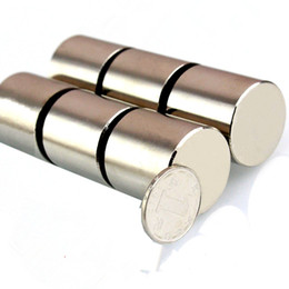 Seltene starke magneten neodym online-Großhändler 1pc super stark 30x30 magnet 30 * 30 N35 dauerhafte seltene erde magnet 30mm x 3mm industrie neodym-magnet D30x30mm