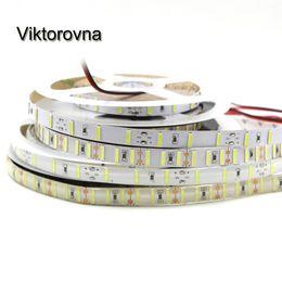 striscia bianca a led SMD 8520 12V 5M 300 leds brillante di 5050 5630 SMD led corda bar luce flessibile impermeabile a nastro stringa di lampada cheap bright rope lighting da illuminazione della corda luminosa fornitori