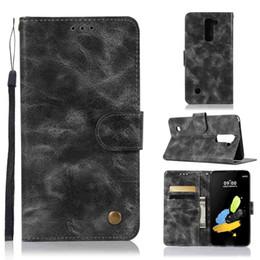Для LG K10 2017 чехол для телефона LG K10 2017 чехол для мобильного телефона кошелек Винтаж кобура от Поставщики vintage