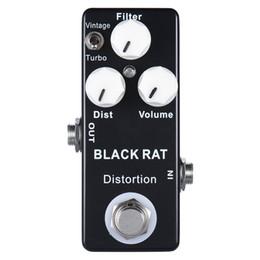 Canada MOSKY BLACK RAT Distortion Pédale D'effet Guitare Compulsive True Bypass Distortion Offre