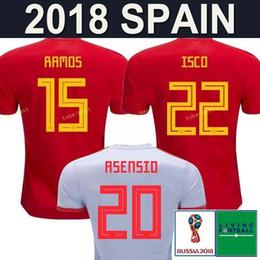 Rabatt Spanien Fußball Jersey | 2019 Fußball Trikot Fußball
