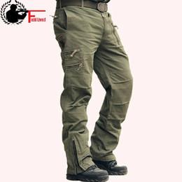 Argentina Pantalones tácticos Hombre Camo Jogger Pantalones de algodón de talla grande y estilo multi bolsillo Estilo militar Ejército de camuflaje Pantalones cargo de los hombres supplier army jersey camo Suministro