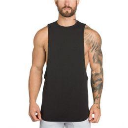 Canada gilet débardeurs GAIN gymnases vêtements bodybuilding stringer gymnases débardeur hommes fitness singulet coton chemise sans manches muscle muscle jacket supplier fitness vests for men Offre