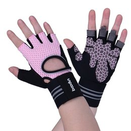 Wholesale soccer mittens - Bardian Summer Mittens Camping Equinment Exercise Gloves Ventilate Wearable Outdoor Sport Glove Newest Fashion Bracer Hot Sale 37 5fb iiWW