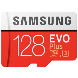2019 samsung 256 gb Samsung Original 128GB EVO + Tarjeta de memoria MB-MC128G EVO plus U3 64GB 256GB Class10 Dash Camera TF Tarjeta Envío Gratis