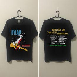 Wholesale rare editions - VINTAGE RARE!! -80s-1986-BOB-DYLAN shirt top reprint limmited edition