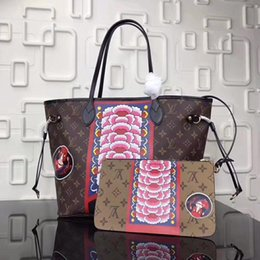 Wholesale Original Leather Handbags - AAAAA top quality 2018 New style bags Luxury original designer handbag Genuine Leather Ladies handbag womens fashion Female bags Free Shippi