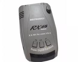 Wholesale car radars - HOT Sale Wifi Camera English Usb2.0 Arrival- Car Radar Detector Beltronics Rx65 Full Laser 360 English russian Voice with Led Display