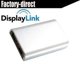 Chipset per laptop online-Adattatore grafico per convertitore audio-video USB 2.0 a HDMI (Displaylink Chipset) per PC laptop fino a 1080P supportati