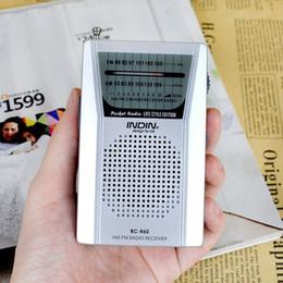 altavoces antiguos Rebajas Receptor de radio portátil Old Man Multifunción AM / FM Radio Altavoz Reproductor de música MP3 para padres Regalo de cumpleaños