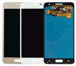 Wholesale Wholesale Display Units - 100% Original LCD Touch Screen Display Unit Gold white black For Samsung Galaxy A310 free DHL AAA+++