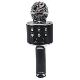 Argentina Wireless Karaoke WS858 Bluetooth Mini Home KTV Micrófono Reproductor portátil MIC Altavoz Grabar Música Altavoz Player Smart PHONE PC supplier mini microphone ktv Suministro