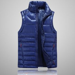 Wholesale mens vest outerwear - 2018 north Classic Brand Men Winter Outdoor white Duck Down Jacket man casual hooded Down Coat outerwear mens warm FACE jackets vest 505