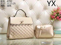 Wholesale womens pockets - New CC Brand Bag Women Gabrielle Composite Famous Designer C Shoulder Bag Leather Handbags Tote Womens K0 Shopping HOBO Bags