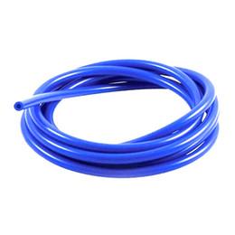 Mangueiras de carro azul on-line-6mm Completo Silicone Car Fuel / Air Mangueira de Vácuo / Linha / Tubo / Tubo 1 Metro 3.3ft Azul Novo