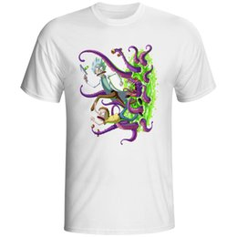 Wholesale Uomo Shirt Xl - Piccolo Rick Ha Lasciato Fuori funy Uomo t-shirt manica corta casuale spedizione Rick top stampati e Morty del fumetto 3xl