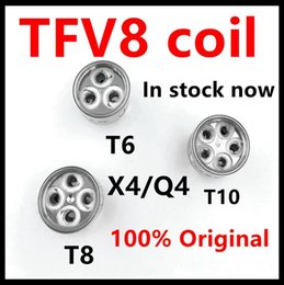 Argentina Bobinas auténticas TFV8 con bobina V8-T8 V8-T6 V8-Q4 V8-X4 V8-T10 Turbo V8 para tanque de bestia en la nube TFV8 Suministro