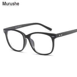 Murushe Retro Rodada Eyewear Claro Óculos Óculos Óptica Armações de Óculos de Olho Óculos Transparentes Quadro Falso 2018 de