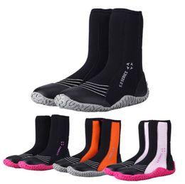 5 mm zapatos de buceo alto surf deriva resbalón zapatos calientes snorkel  Flipper botas playa de playa zapatos botines Surf OOA4940 201593c1426