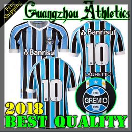Wholesale Best Multi - 2018 2019 Best Quality Gremio Home Away third Soccer Jersey 18 19 Gremio MILLER LUAN DOUGLAS DIEGO HAILON Soccer Jerseythird
