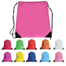 dancing school bags Promo Codes - kids  clothes shoes bag School Drawstring  Frozen Sport Gym 155e5f38db920