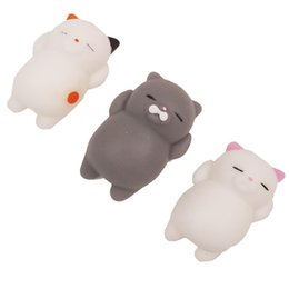 Dropshipping Mignon Mochi Squishy Chat Squeeze Guérison Fun Enfants Kawaii enfants Adulte Jouet Stress Reliever Décor ? partir de fabricateur