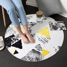 Canada Tapis rond maison tapis de plancher ordinateur chaise pivotante couverture chambre salon tapis de loisirs Offre