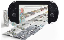 Wholesale Menu Screens - brand new Game Console 4.3 inch screen mp4 player MP5 game player real 8GB with Russian or Italian menu
