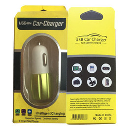 2019 apfel iphone 6s 128g Leeres Papier-USB-Auto-Ladegerät-Kleinpaket-Kasten-Höhlenforscher-Fall passte die meisten 4CM x 8.5CM einzelne Doppel-USB-Auto-Ladegeräte STY142