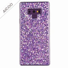 Bling Glitter Kristal Telefon Kılıfı Parlak Pullu TPU Yumuşak Kapak iphone XR XS Max Samsung Not 9 Huawei P20 Lite Pro OPP nereden kristal bling telefon kapakları tedarikçiler