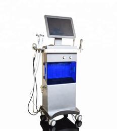 Многофункциональный высокое качество 9 в 1 Гидра водой пилинг Алмазная дермабразия ультразвуковой био машина RF лицевая от Поставщики rf алмаз