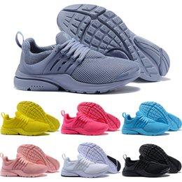 separation shoes 87be7 94881 New Hot Sell Prestos 5 V Laufschuhe Männer Frauen 2018 Presto Ultra BR QS  Gelb Rosa Weiß Oreo Outdoor Sports Mode Jogging Turnschuhe