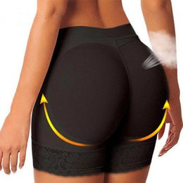 hot underwear short woman Coupons - Women HOT Padded Bum Pants Enhancer Safety Short Pants Butt Lifter Booty Boyshorts Underwear