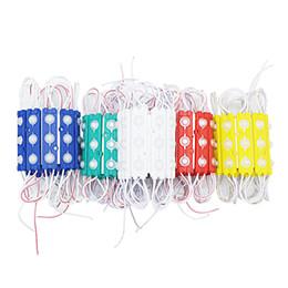 ha portato le luci della finestra del negozio Sconti Moduli LED store front light light sign Lampada 3 SMD 5630 Injection white ip68 Waterproof (10ft = 20pcs) Strip Light retroilluminazione a led