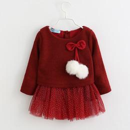 Canada Bébé Fille Dress New Casual Automne Vêtements De Bébé À Manches Longues À Carreaux Ours Bretelles Faux Deux Pièce Robe Vêtements De Fille De Bébé Offre