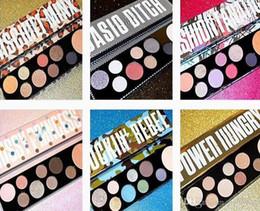 NUEVAS paletas de maquillaje Colección de Niñas Bitch Power Hungry rockin rebelde 9 colores paleta de sombras de maquillaje paletas de maquillaje ePacket Envío gratis desde fabricantes