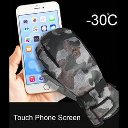 2019 handschuhtelefon 3 Finger Touch Telefon Bildschirm Professionelle Snowboard Ski Handschuhe Wasserdicht-30 Winter Thermische Handschuhe Ski Snowmobile Tasche C18111501 günstig handschuhtelefon