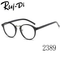 9c6fd3ba6a2 2389 Fashion Eyeglasses Frames Big Glass Frame Women Round Glasses Frame  Brand Myopia Optical Armacao De Oculos