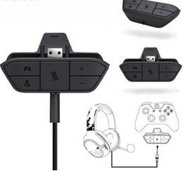 2019 spiel-gaming-controller Gamepad Stereo-Kopfhörer-Kopfhörer Audio Gaming Adapter für Microsoft für Xbox One-Controller Spielkonsolen Zubehör günstig spiel-gaming-controller