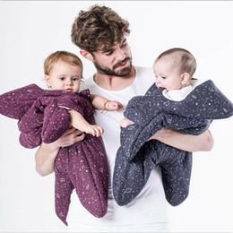 Wholesale Warmer Bag Baby - Ins Baby sleeping bag Maternity Stars cotton warm Infants sleeping bags kick -proof 2017 winter Hotsale