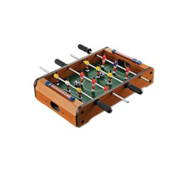 Wholesale Toy Football Tables - Mini Football Game Soccer Table Wooden Room Leisure Recreation Boys Guys Family Fun Table Sports Manual Interaction New Arrival