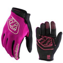 Wholesale road bike winter gloves - Winter TLD Cycling Gloves GEL Bike Off-Road Gloves Outdoor Sport Shockproof MTB Road Full Finger Bicycle Tactical Gloves For Men Women H516F