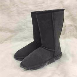 2018 leder lange stiefel männer Frauen stiefel designer schuhe Klassische  Australian Ugs Herren Unisex Schneeschuhe Wasserdichte af55ee0648