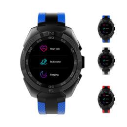 pantalla táctil redonda reloj deportivo Rebajas Reloj inteligente de actividad deportiva Reloj IP67 Fitness Tracker Deporte de moda redonda Color táctil pantalla-Smart Podómetro Pulsera