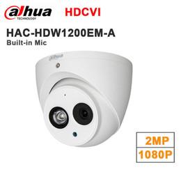 Caméras dahua 2mp en Ligne-Dahua 2MP 1080p HDCVI HAC-HDW1200EM-A remplacer caméra Eyeball IR HAC-HDW1200E-A