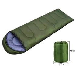 Sacs de couchage en plein air réchauffement unique sac de couchage d'été Casual couvertures imperméables enveloppe camping Voyage randonnée sac de couchage en gros ? partir de fabricateur