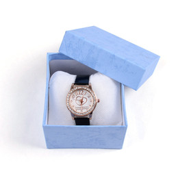 Wholesale Bracelet Box Pink - 2017 Popular Casual Fashion Beautiful 1PC Durable Present Gift Box Case For Bracelet Bangle Jewelry Watch Box Watch Accessories