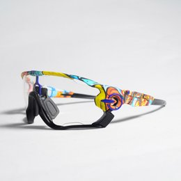 0f28e4bdb3f 3 Lens Clear Photochromic Cycling Glasses Discoloration Riding Fishing Goggles  Bike Polarized Cycling Sunglasses Bicycle Eyewear