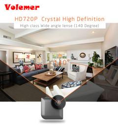 moniteur vidéo wifi Promotion Volemer HD Caméra de vision nocturne Smart Wear Caméra Accueil Wifi Caméra de surveillance à distance Mini Caméra Kamera PK C1 C2 SQ11 Q7