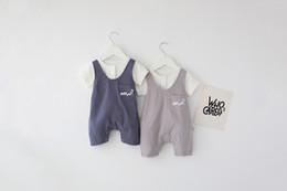 Nuevos bebés del verano que escalan el mameluco 100% algodón o-cuello camiseta blanca y mameluco niña niño juegos del mameluco niños lindos mamelucos Ropa para niños bebés desde fabricantes